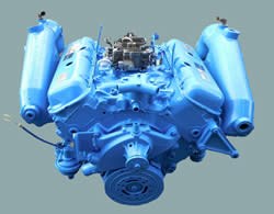 Picture of V8 Marine Engine