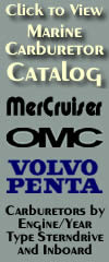 Marine Carburetors|Identify Carb by|Sterndrive|Engine|Year