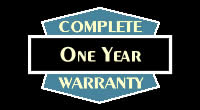 Complete One Year Warranty